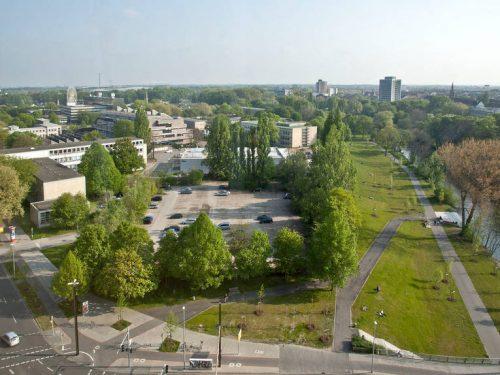 So sah das Grundstück als Parkplatz genutzt aus. (Foto: Hannover.de)